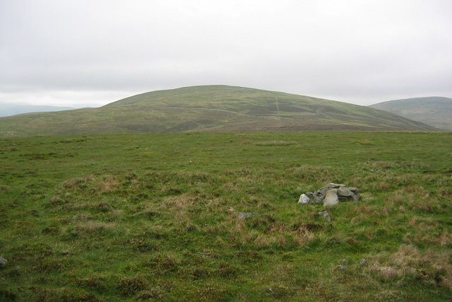 Summit of Glenleith Fell