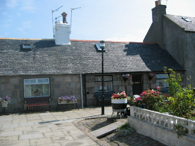 Cottages in Footdee