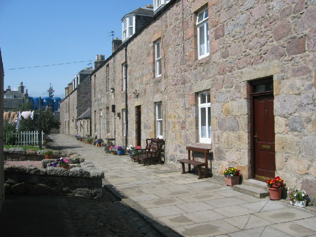 Housing in Footdee