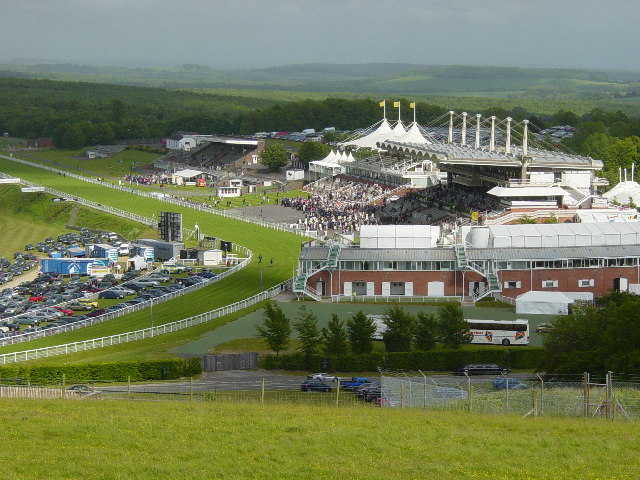 Goodwood Horseracing Course.