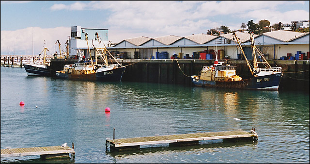 Fish Wharf, Brixham Harbour