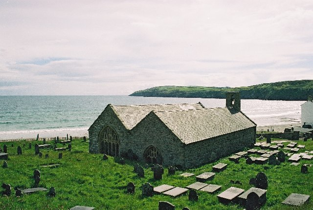 Aberdaron church