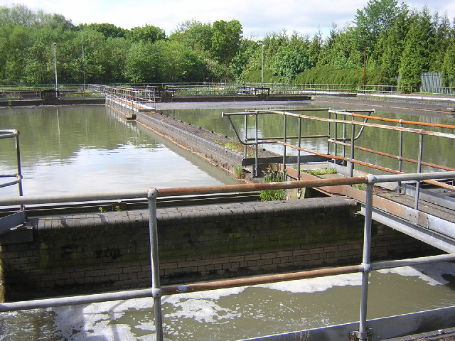 Esholt Water Treatment Works
