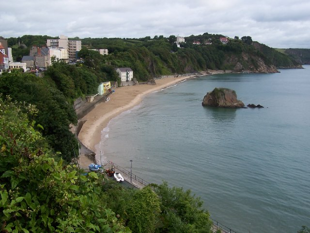 Tenby North Beach & Goscar Rock