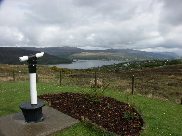 Viewpoint above Fort William
