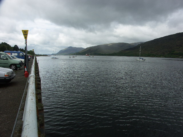 Loch Linnhe from West End Car Park
