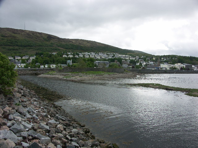 The old fort at Fort William
