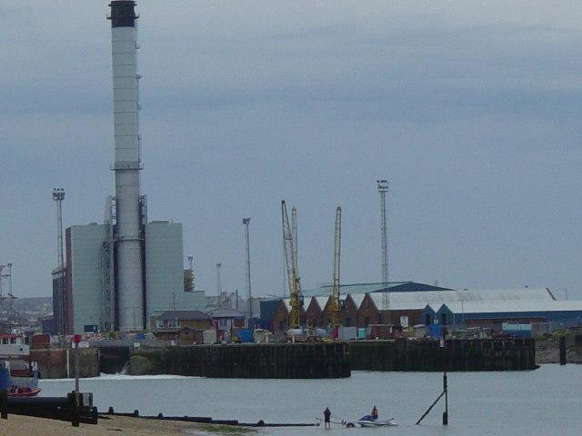 Shoreham Harbour and Power Station