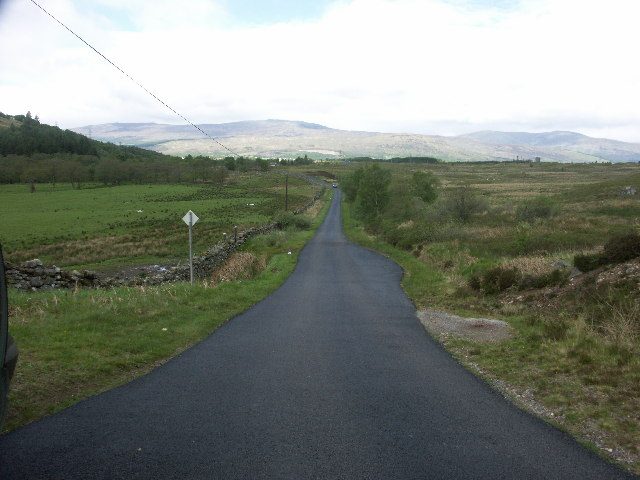 "Road from Claggan towards Achintee and Ben Nevis ""tourist"" footpath"