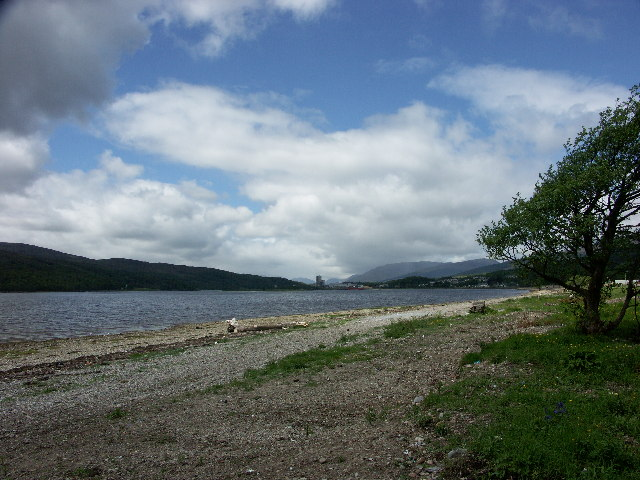 Corpach and Loch Eil from Caol