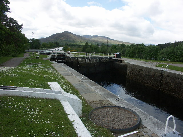 Neptune's Staircase, Caledonian Canal