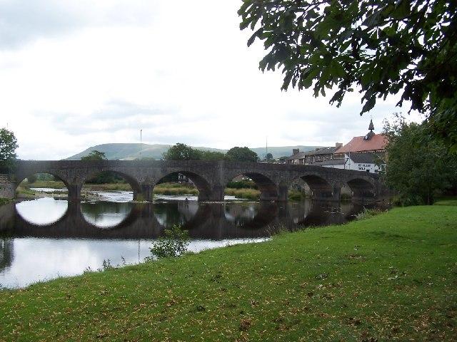 Wye Bridge, Builth Wells
