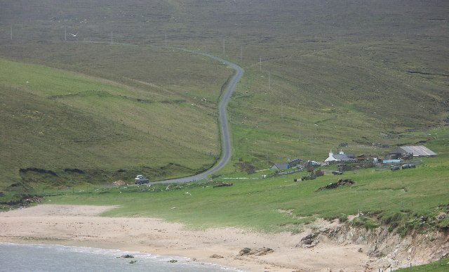 Most Northerly UK Road