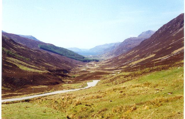 Glen Docherty and Loch Maree