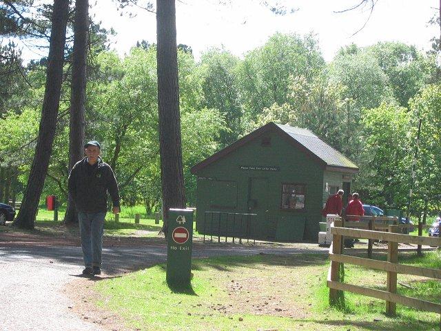 Forestry Commission carpark, Tentsmuir.