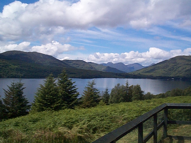 Loch Katrine and Arrochar Alps