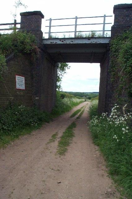 Railway Bridge, off Sandy Lane, Warsop