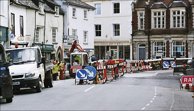 Modernising the Town Centre, Ashburton