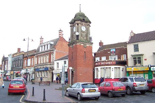 Wednesbury, the High Street