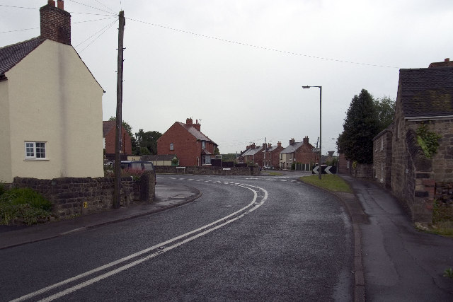 A609, Horsley, Road Junction, Kilburn