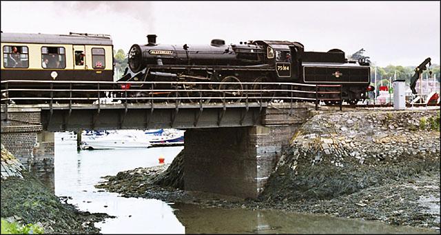 Railway Overbridge near Kingswear