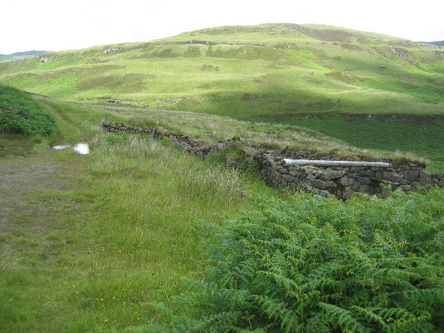 Farm buildings North of Carsaig