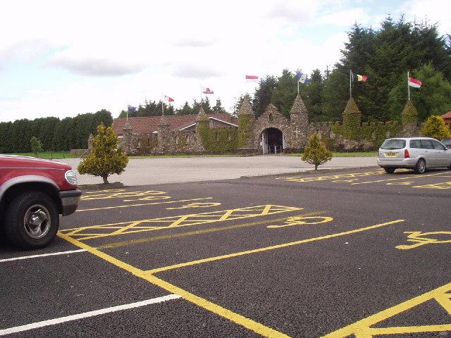 Carpark and entrance to Storybook Glen