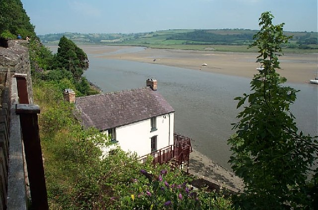 Dylan Thomas's Boat House, Laugharne