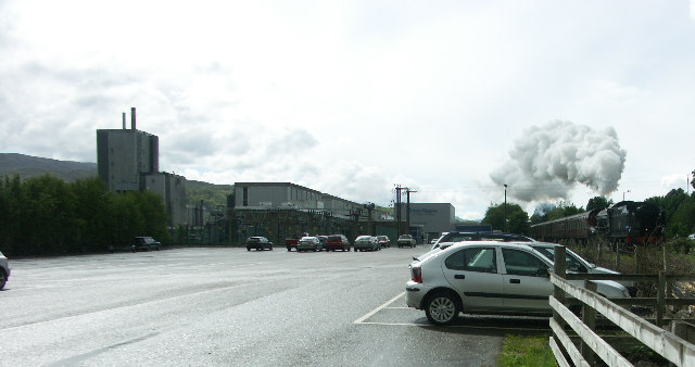 Corpach Paper Mill