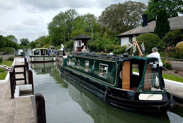 Radcot Lock on the River Thames, Oxfordshire