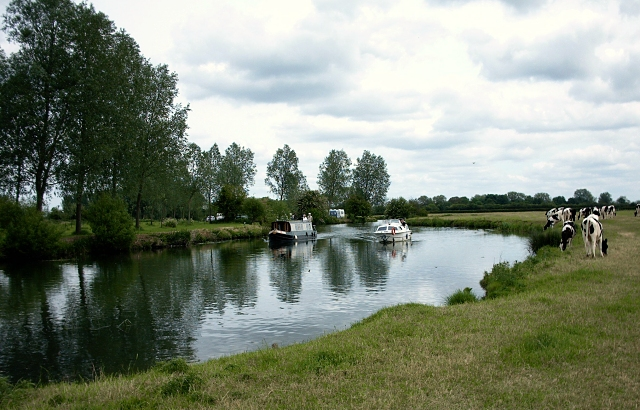 The River Thames between Radcot Bridge and Radcot Lock, Oxfordshire