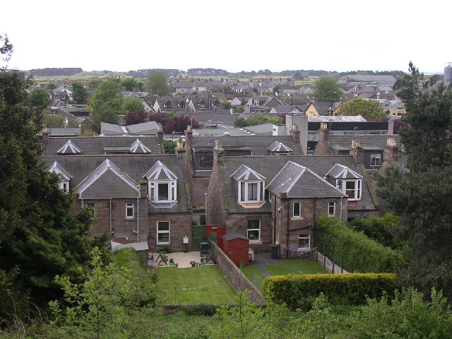 Carnoustie rooftops