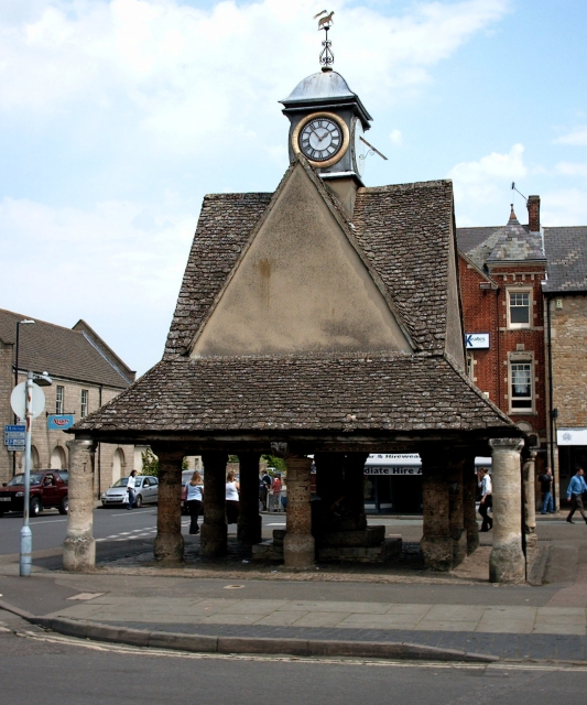 The Buttercross in Witney, Oxfordshire