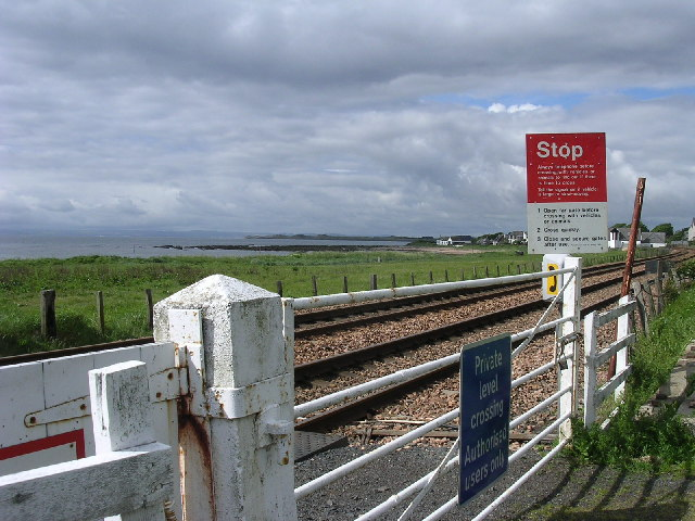 Level crossing between East and West Haven