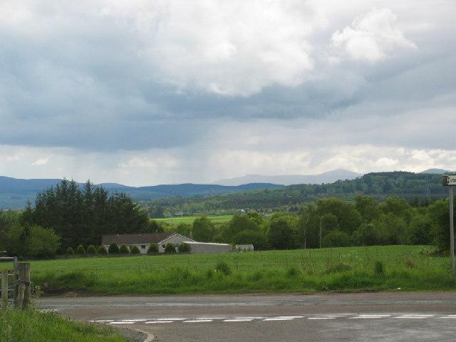View across Linn Moor