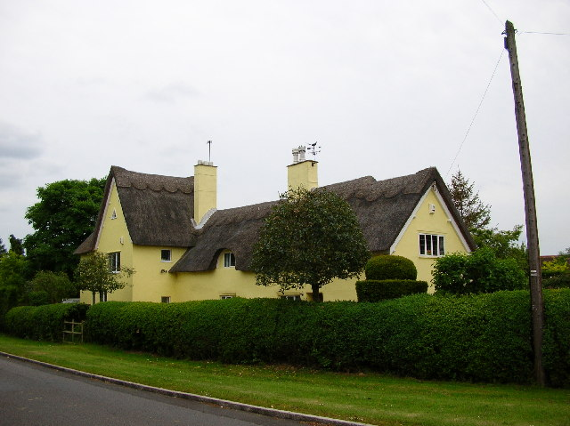 Biddenham Village, Yellow Cottage?