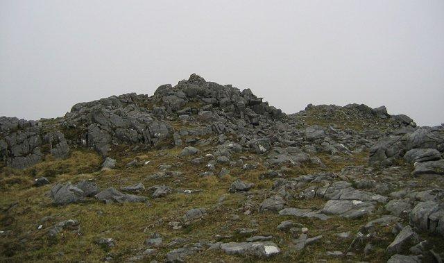 Summit of Beinn na Caillich