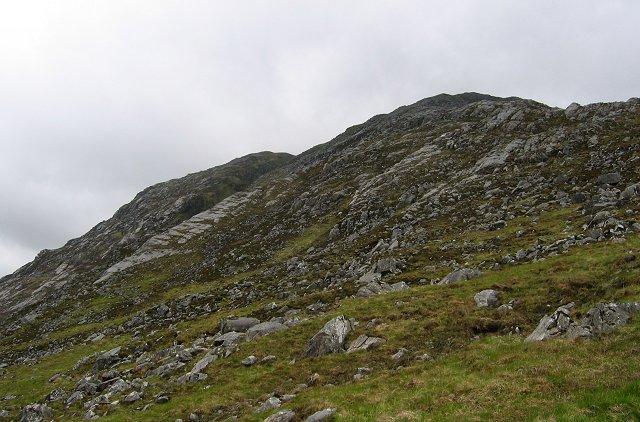 Slabs on Beinn na Caillich