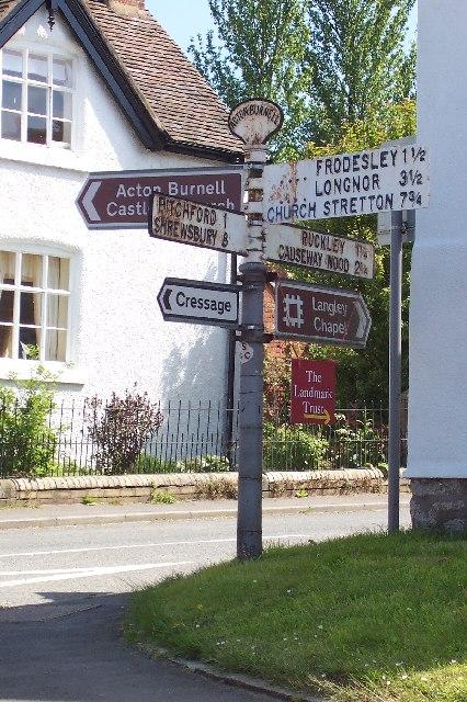 Acton Burnell Crossroads