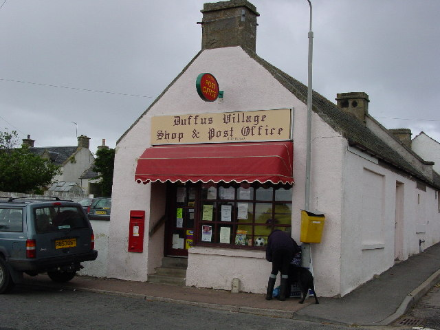 Duffus village shop and post office