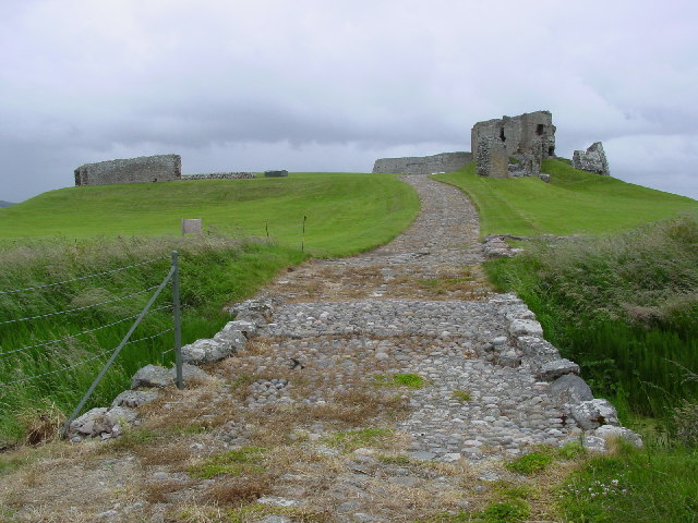 Duffus Castle, from the East