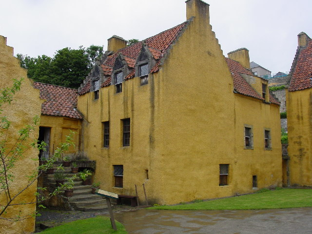 Culross Palace Courtyard