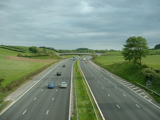 M6 Motorway, near Carnforth