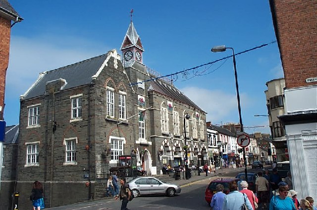 Guildhall, Cardigan