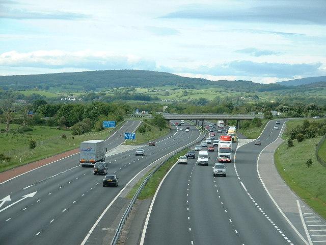 M6 Motorway, near Carnforth