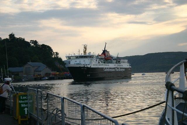 Ferry, Oban
