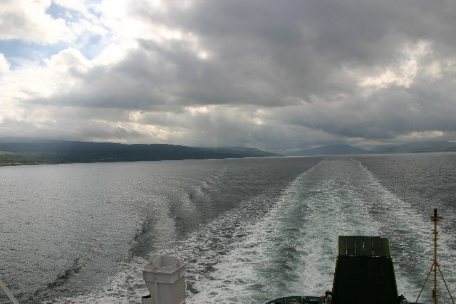 Journey from Oban to Coll