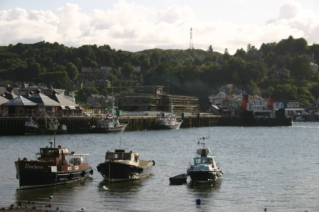 The harbour, Oban
