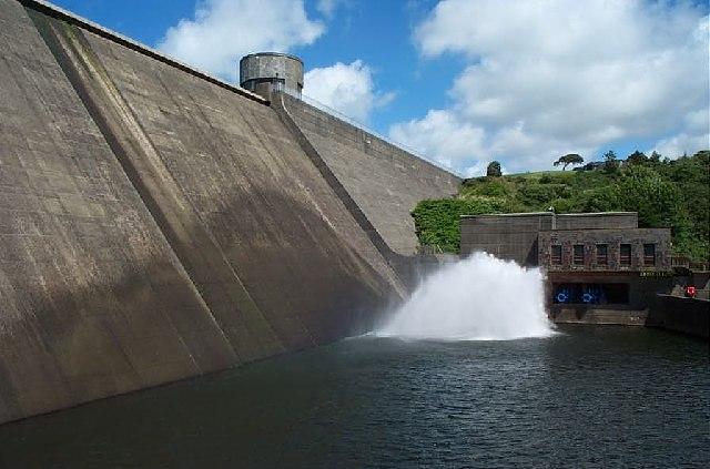 Llys-y-fran Dam