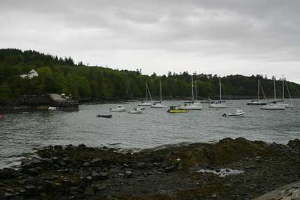Boats in Armadale Bay, Skye